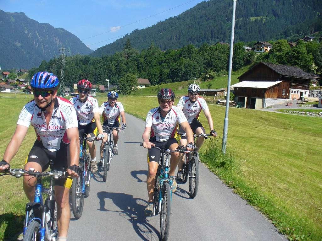 Biken in Vorarlberg